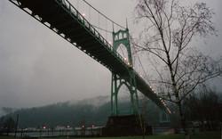 St Johns Bridge at Dusk