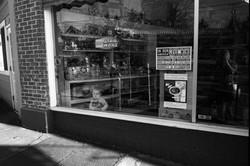 Kid in Toy Store Window