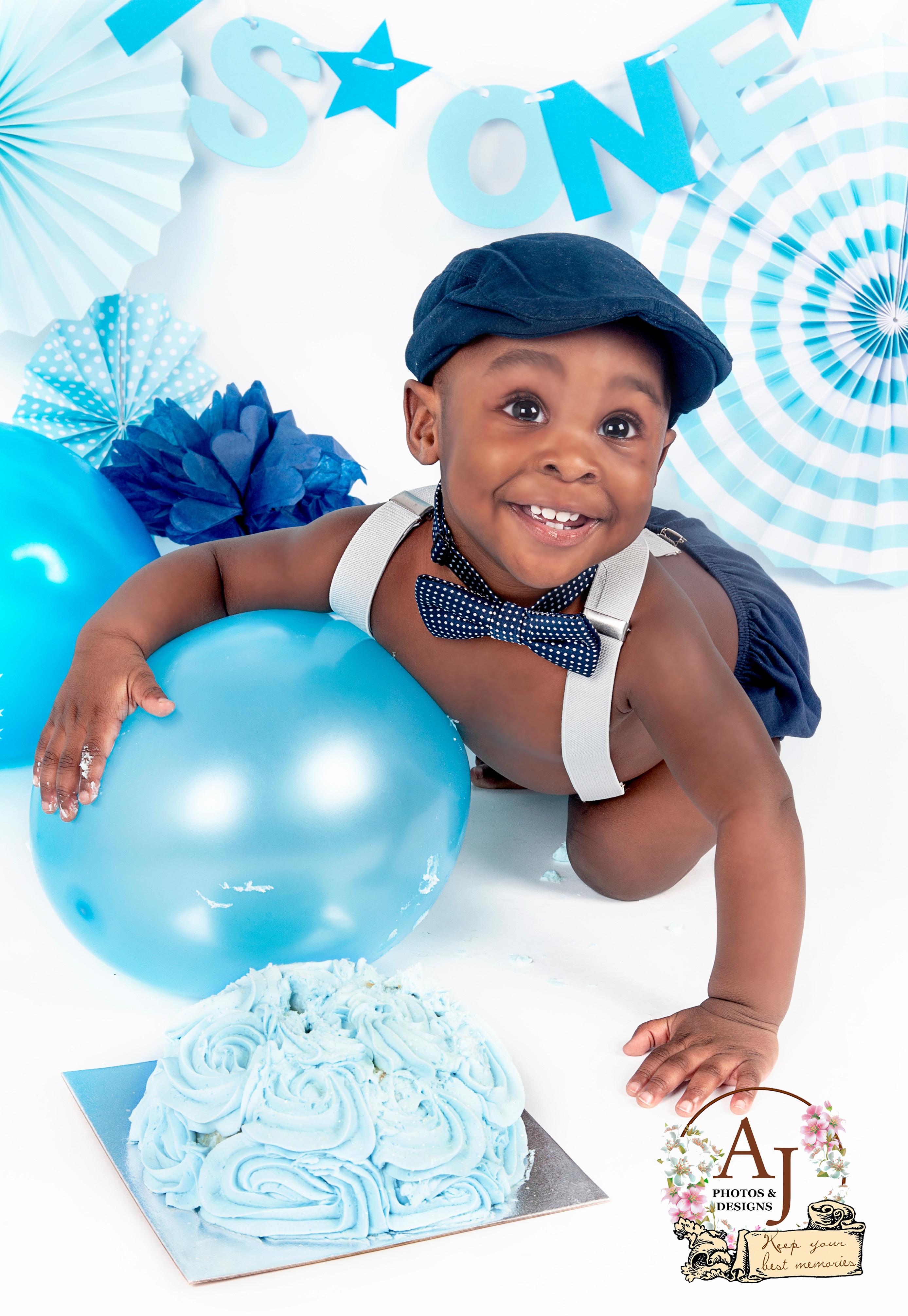 Smashcake & Birthday photoshoot