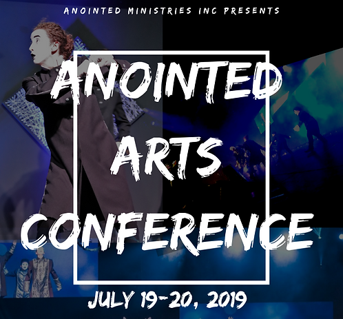 2019 Anointed Arts Worship Concert DVD