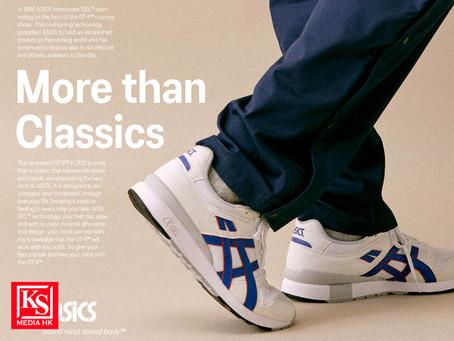 元祖鞋款 GT-II 震撼重現超越經典 再創傳奇ASICS