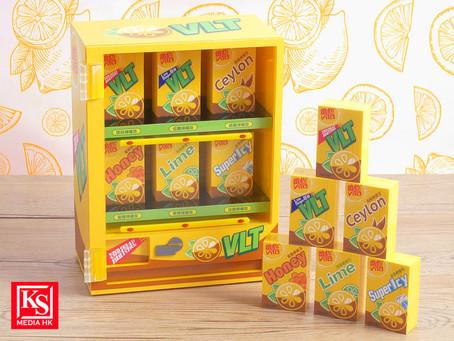 維他™檸檬茶送出限量6款「迷你積木扭蛋」及「迷你售賣機」