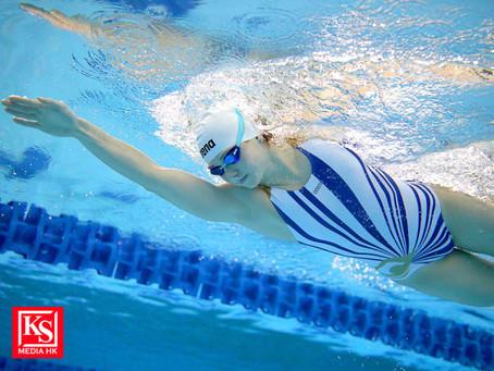 arena首次與香港精英游泳運動員推出限量版聯乘泳衣