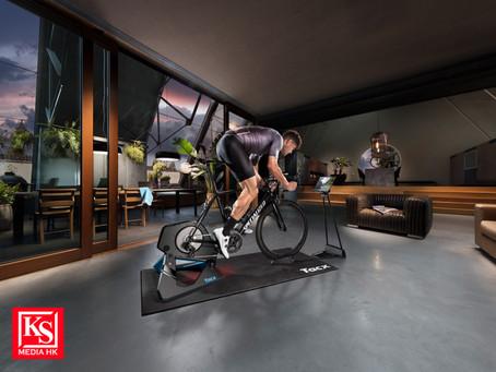將阿爾卑斯山陡坡搬到家中!Garmin 旗下Tacx推出全新智慧型單車訓練台無懼風雨 全天候隨心破風