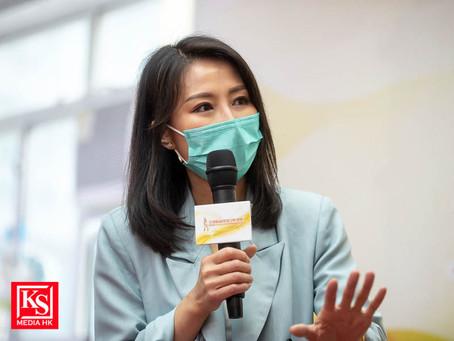 2021全港時尚專業女性選舉十一週年線上開幕典禮錄影日 陳倩揚擔任活動大使