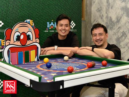 香港著名桌球手傅家俊聯乘本地著名設計師梁慶紀合作研發全球首張組合式兒童桌球遊戲枱CUE Games正式 登場