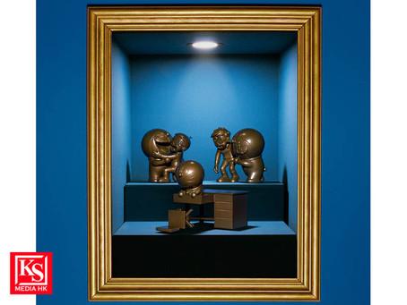 「多啦A 夢名場景鑄銅像」各限量300 枚