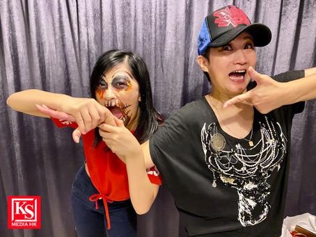 Halloween 2020 張若希扮搞鬼巫婆,跟Vikki姐姐去萬聖節嘅party感受一下