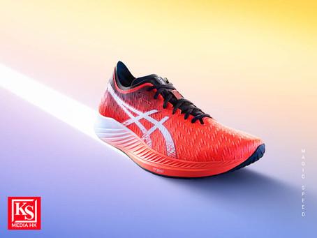 ASICS 最新半掌碳纖維板鞋 MAGIC SPEED
