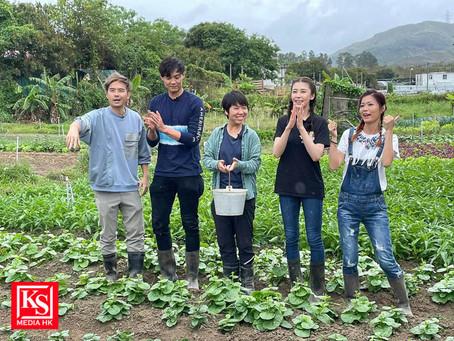 蔣嘉瑩、施匡翹、謝高晉落田做一日農夫體會到農夫艱辛 呼籲大家珍惜食物