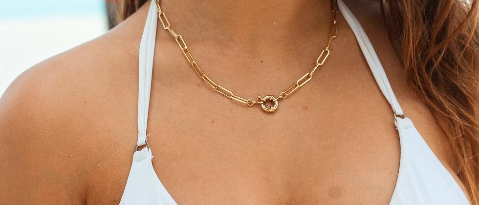 Clip Sailor necklace