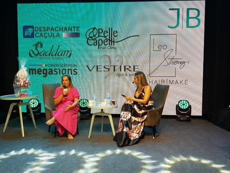 Empreendedora da moda traz emoção ao palco do JB ConVida