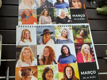 Calendário Mulheres Fantásticas: Projeto arrecada verba para instituição do Grande ABC