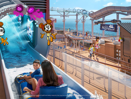 Navio da Disney Cruise Line promete férias dos sonhos para famílias em 2022