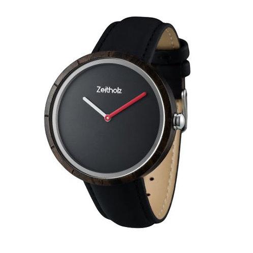 【Zeitholz】zei-0307(時計/ブラック×ブラック)  Unisex