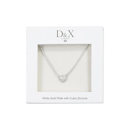 【D&X】DG0031A(ネックレス/シルバー)