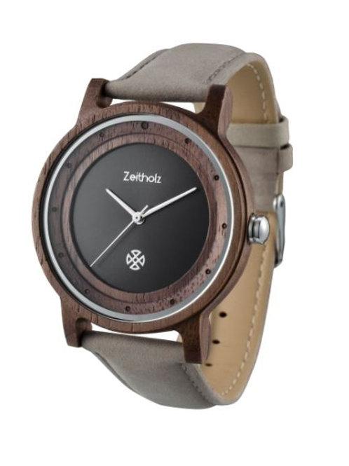 【Zeitholz】zei-0301(時計/Dブラウン×ベージュ)  Unisex