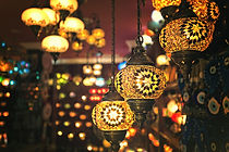 装飾的なランプ
