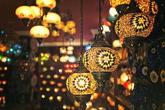 Dekorative Lampen