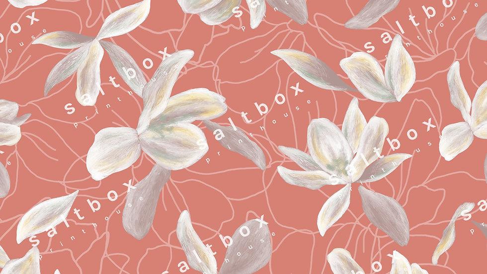 #FLO.100 -Soft vintage tropical