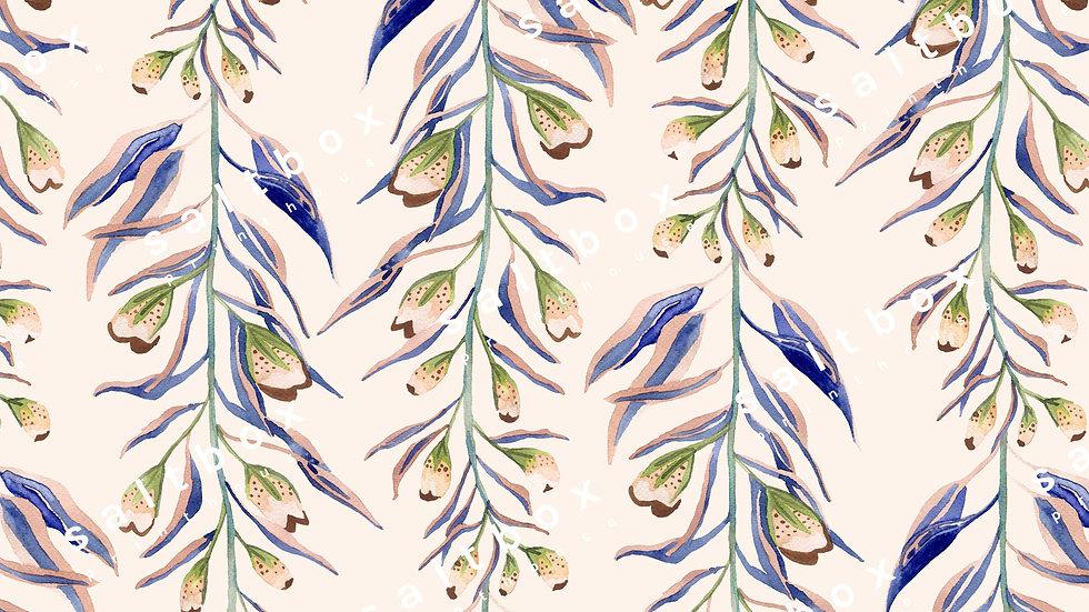 #FLO.018 - Watercolour botanical branches