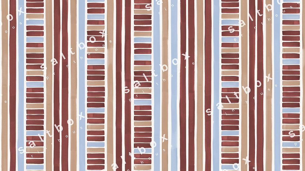 #STR.015 - Retro Watercolor Stripes