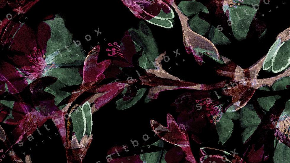 #FLO.032- Dark night floral