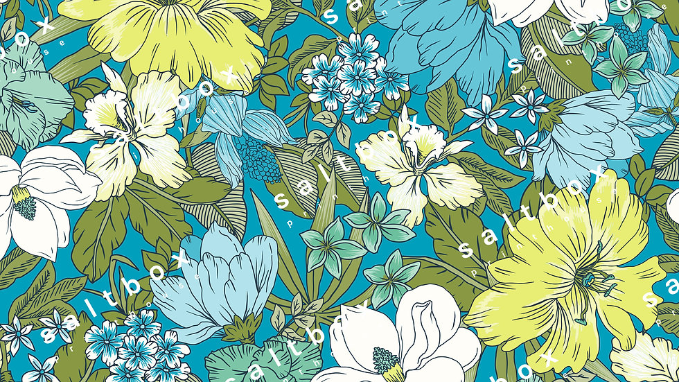 #FLO.103 - Sixties floral