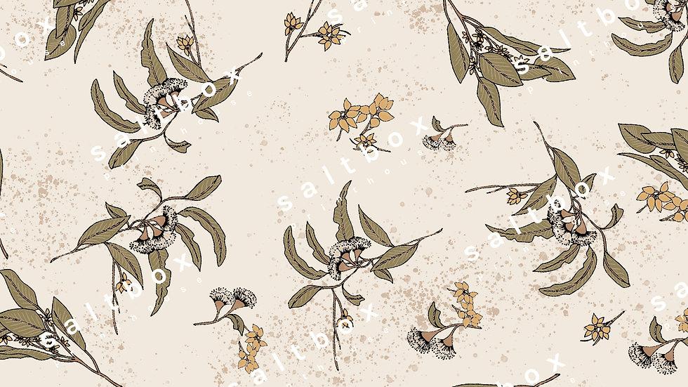 #FLO.176 - Eucalyptus leaves