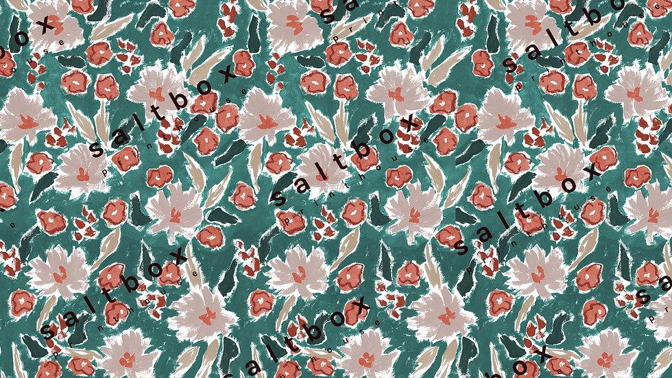 #FLO.084 -Brushstroke floral
