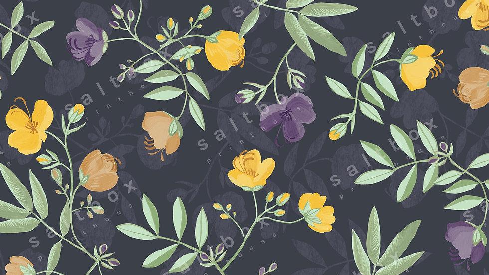 #FLO.028 - Gouache boho flower