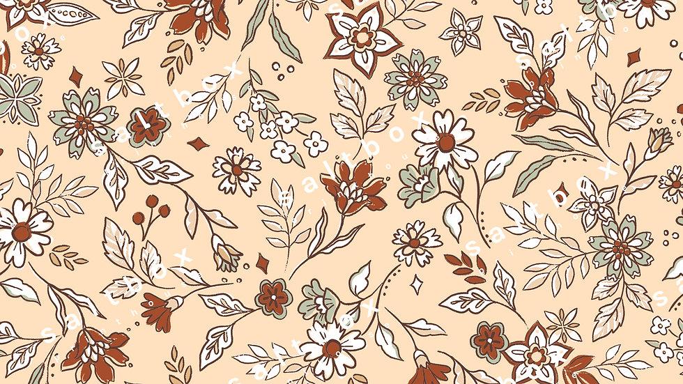 #FLO.156 - Boho Ditsy Floral