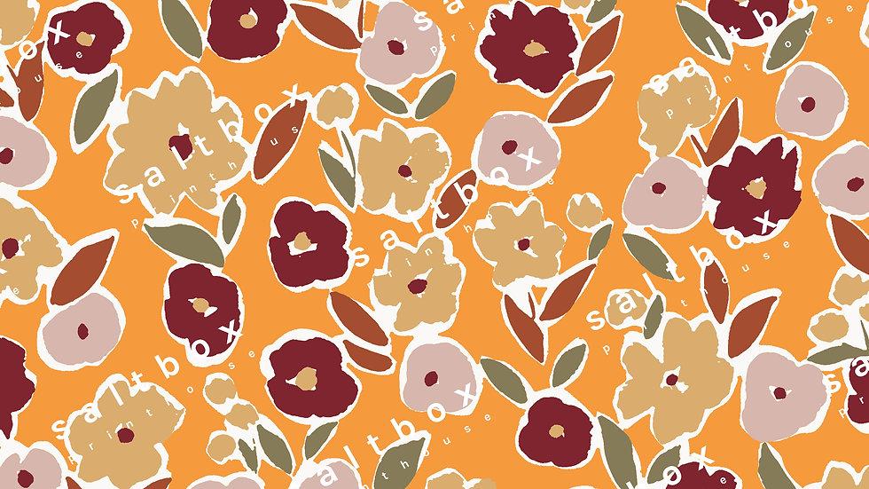 #FLO.183 - Ditsy Brush Flower