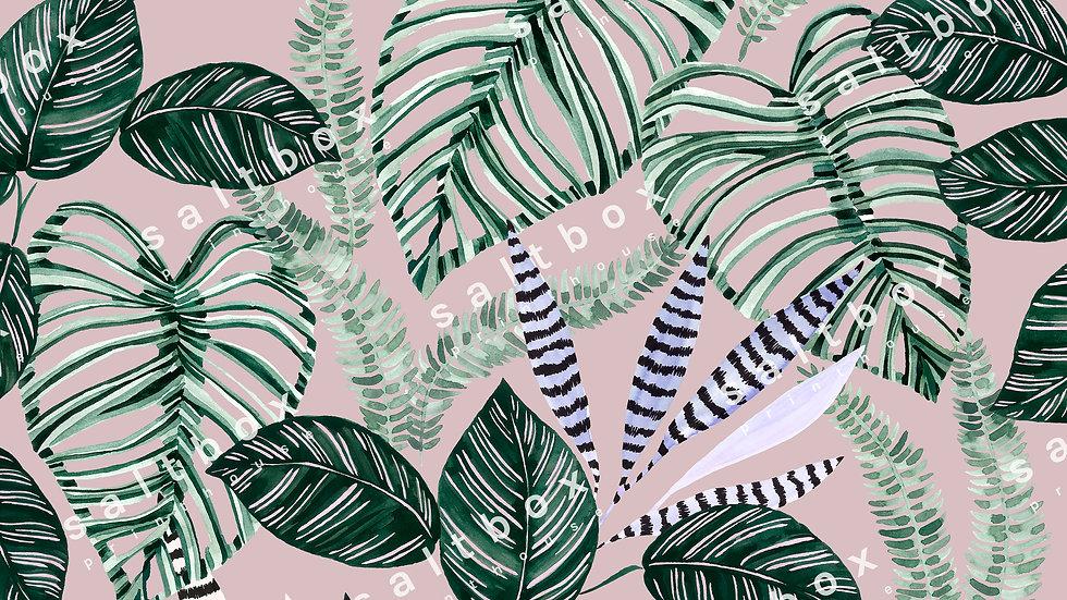 #FLO.057 - Tropical leaves
