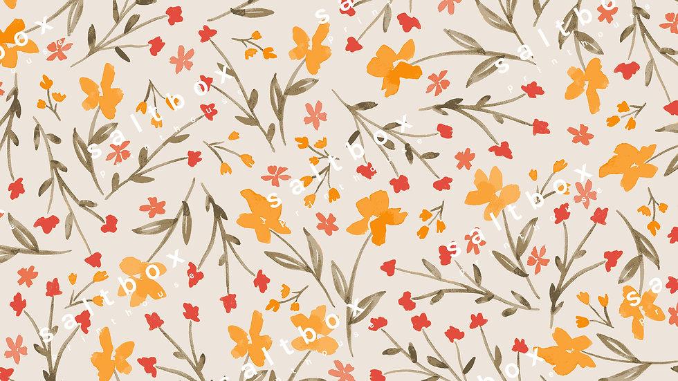 #FLO.138 - Watercolour ditsy floral