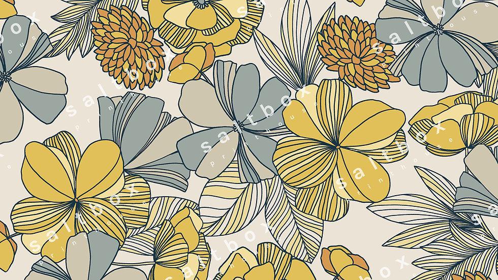 #FLO.146 - Retro Floral