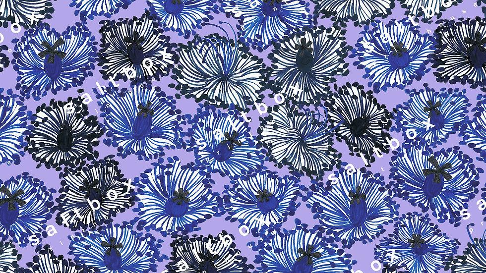 #FLO.087 -Floral stamps