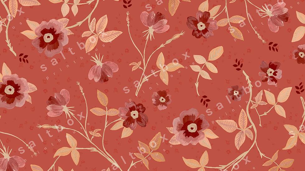 #FLO.026 - Gouache boho flower