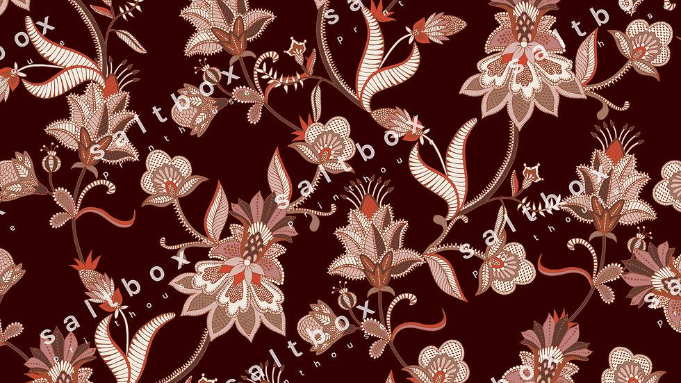 #FLO.184 - Paisley Floral