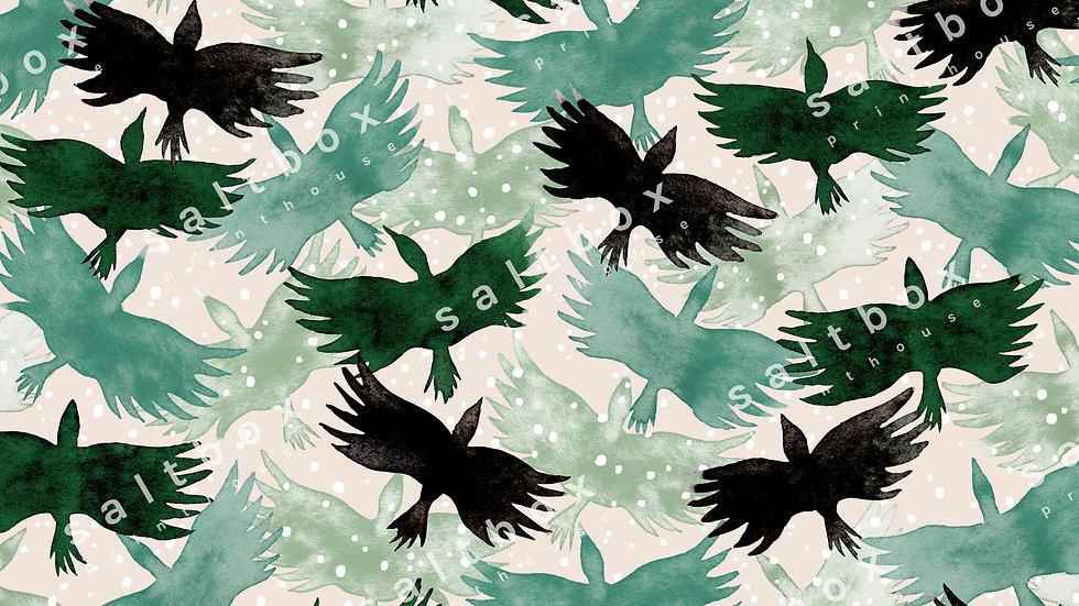 #ANL.010 - Swarm of birds