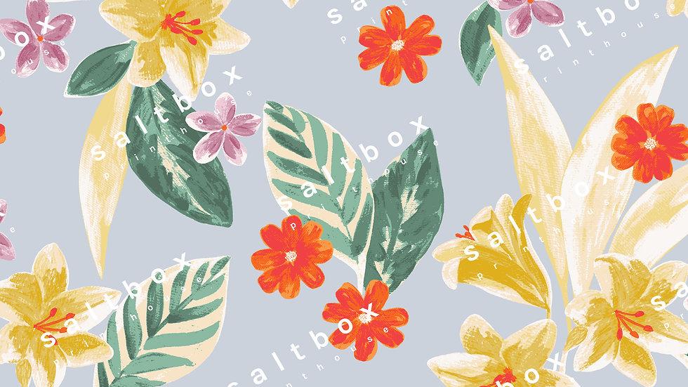 #FLO.179 - Vintage tropical flower
