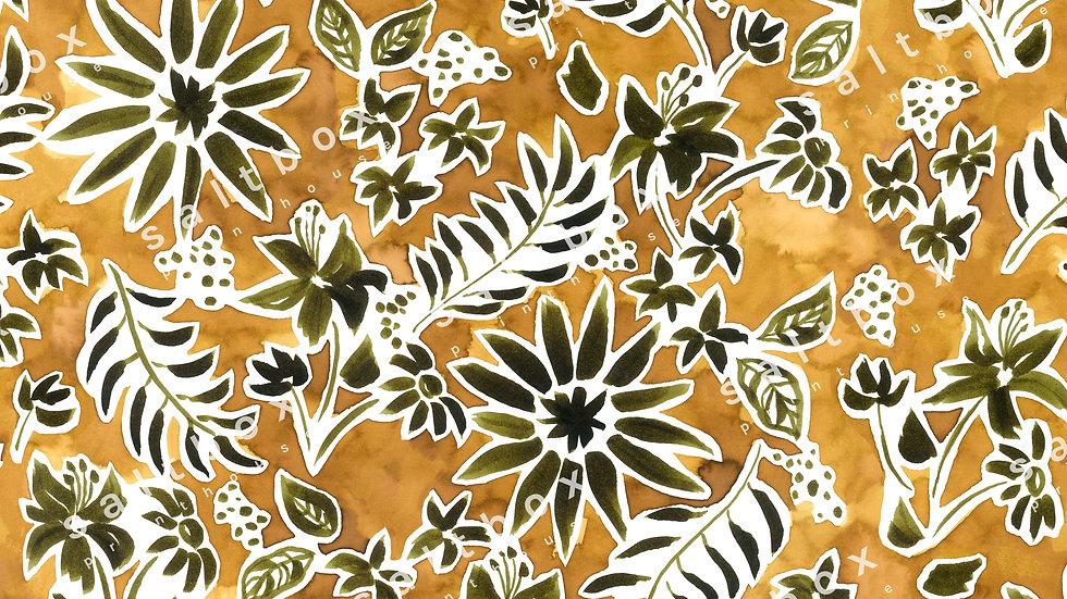 #FLO.061 - Bohemian watercolour floral