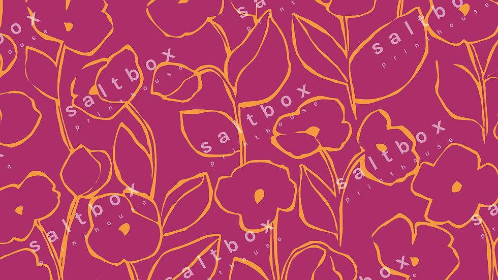 #FLO.148 - Line Art floral