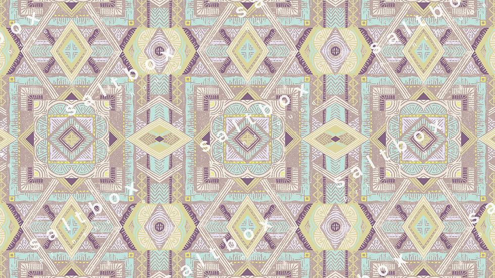 #ABS.057 - Boho block print