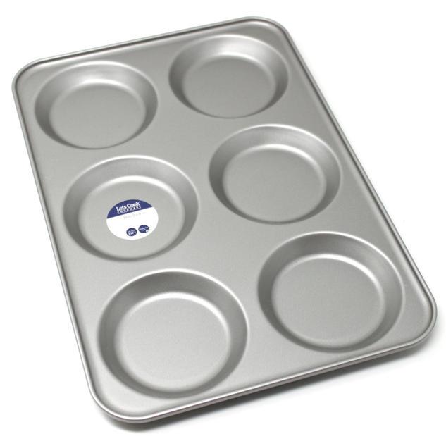 Professional 6 Hole Yorkshire Pudding Tray