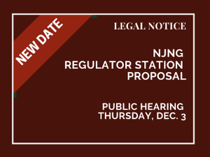 Hazlet NJ Natural Gas Meeting Rescheduled to Dec. 3rd
