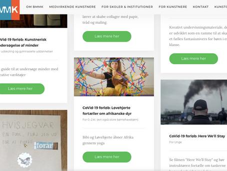 Kunstnere tilbyder onlineforløb