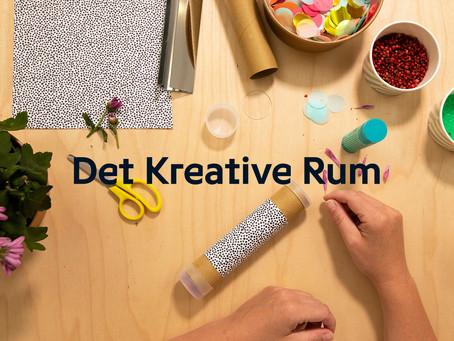 Online liveundervisning med Det Kreative Rum