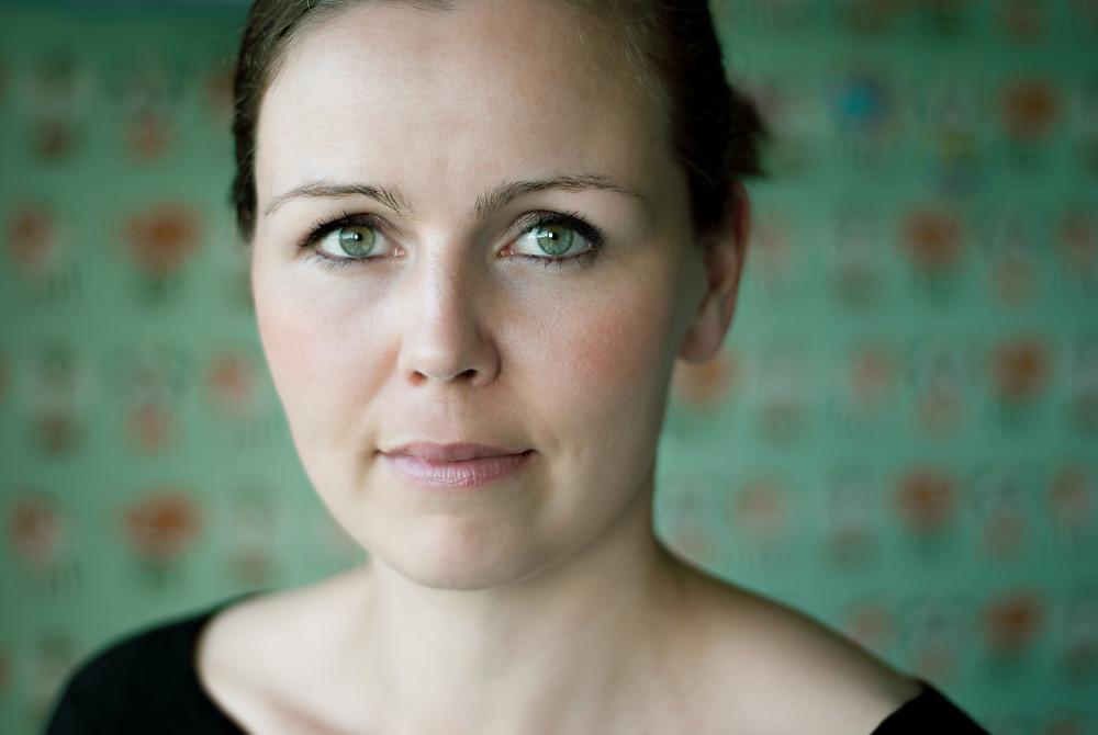 Billede af oplægsholder Katrine Emme Thielke