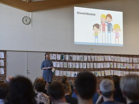Temaaften om god kommunikation i Aula for skolebestyrelserne